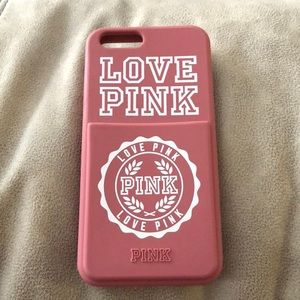 VS Pink Phone Case (6, 7 &8)